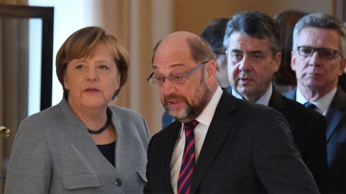 Regeringsvorming Duitsland: Onderhandelaars al 20 uur bij elkaar
