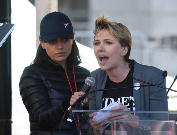 Scarlett Johansson veroordeelt misbruik in vurige speech, maar krijgt meteen verwijt hypocriet te zijn