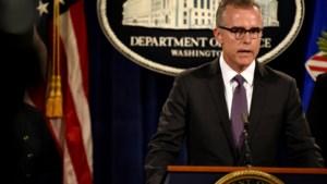 FBI-vicedirecteur stapt op na kritiek op Donald Trump