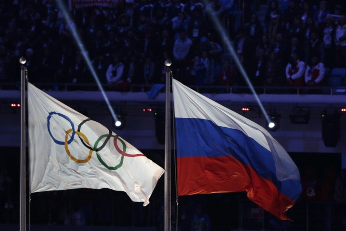 Rusland recupereert negen olympische medaillesuit 2014