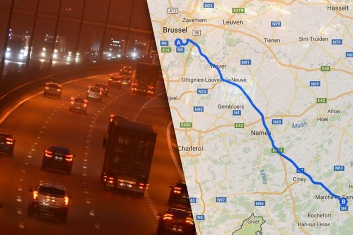 Belg (21) ondergaat helse tocht van 130 kilometer na avondje feesten