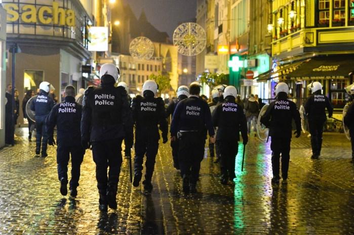 36 personen opgepakt na rellen in Brussel