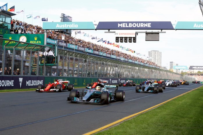 F1-races starten dit jaar om 15u10 lokale tijd