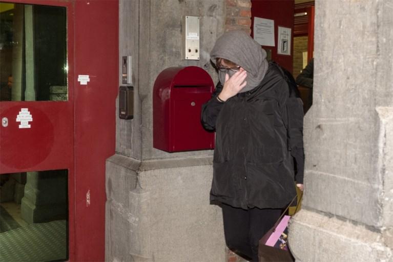 Mireille Gram verlaat gevangenis in Antwerpen