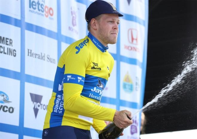 Norman Hansen spurt naar ritoverwinning en leiderstrui in Herald Sun Tour