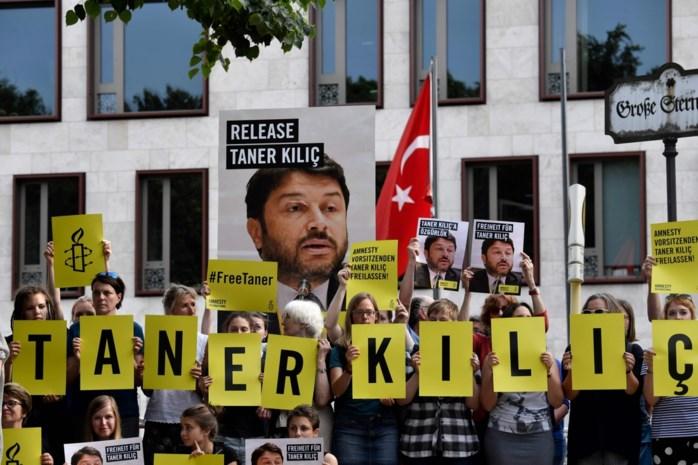 Voorzitter van Amnesty International Turkije weer opgesloten
