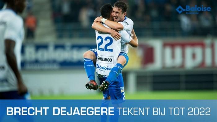 Brecht Dejaegere tekent nieuw langdurig contract bij AA Gent