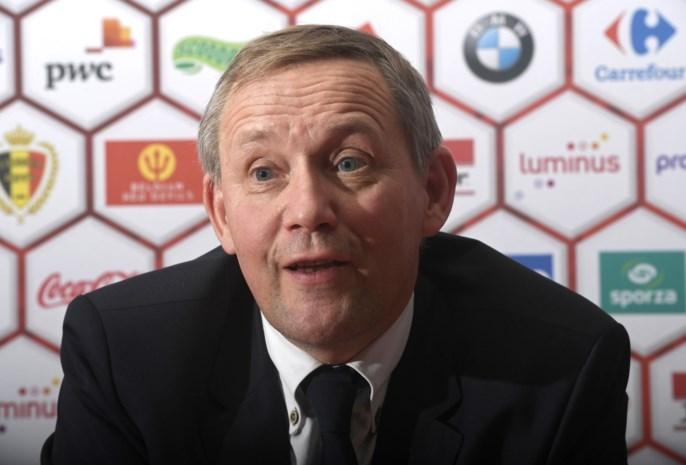 Belgische voetbalbond neemt na amper vijftien maanden alweer afscheid van CEO