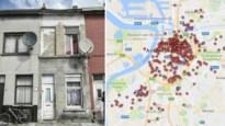 KAART. Dit zijn de onbewoonbare en ongeschikte krotten in Antwerpen