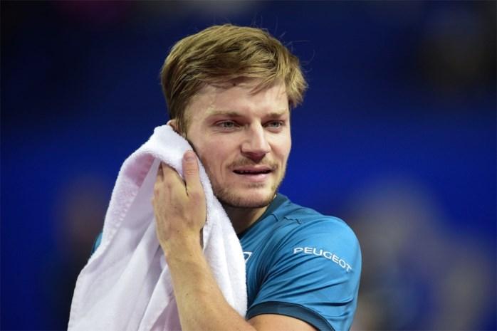 David Goffin strandt in halve finales in ATP Montpellier