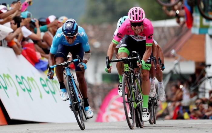 Rigoberto Uran en Nairo Quintana verstoren feestje van Quick-Step Floors in Colombia Oro y Paz