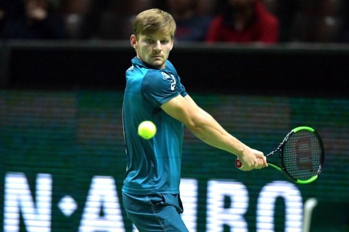 Goffin start prima in sterk bezet toernooi van Rotterdam