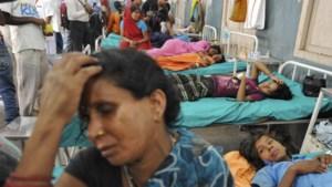 Terreinwagen ramt school in India: 9 doden en 20 gewonden