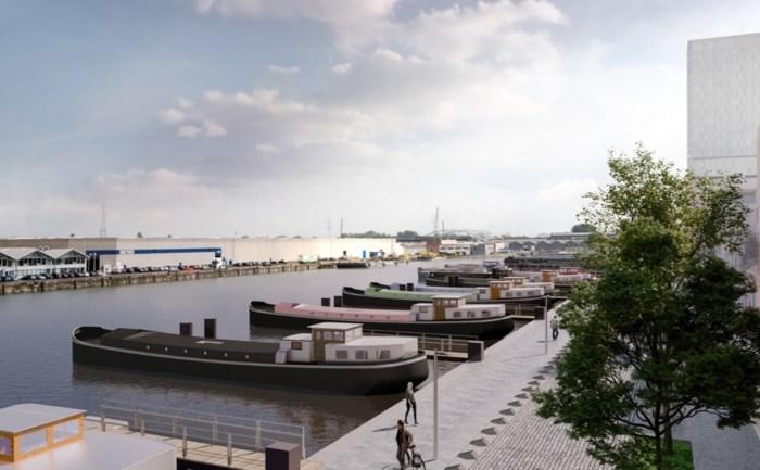 Woonboot drie keer duurder in Antwerpen dan in Gent