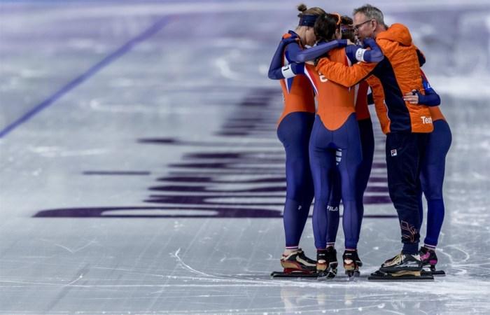 Ondanks Nederlands succes in Pyeongchang, moeten de schaatsers met collectebus rond