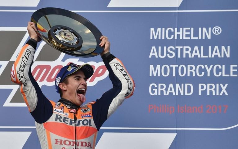 Wereldkampioen MotoGP Marc Marquez verlengt contract bij Repsol Honda