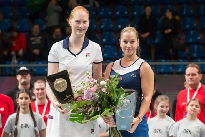 WTA-ranking: Alison Van Uytvanck boekt dertig plaatsen winst, Halep opnieuw nummer één