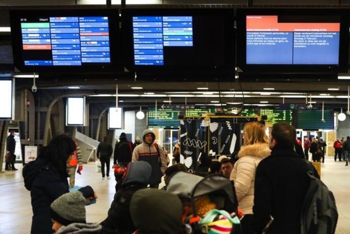 Hinder van staking in Antwerpen het grootst bij De Lijn, hinder bij stadspersoneel