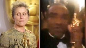 VIDEO. Man steelt Oscar van 'Beste Actrice', pocht ermee op Facebook en probeert beeldje te verkopen via internet