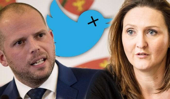 """Theo Francken (N-VA) en Gwendolyn Rutten vechten online relletje uit: """"Rustig Theo, ademen"""""""