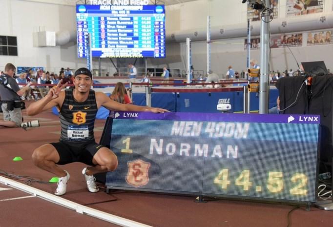 Amerikaanse student verbaast en breekt wereldrecord 400 meter indoor
