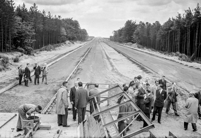 Flashback naar 1958: nieuwe snelweg E313 was al van bij de start een zorgenkindje