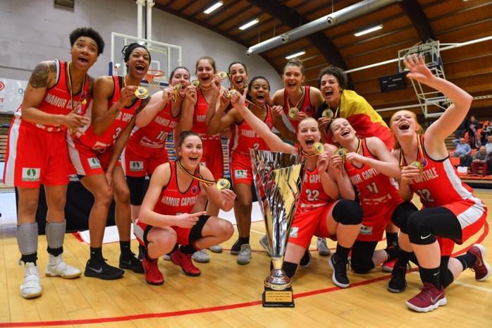 Vrouwen van Namen verslaan Waregem in bekerfinale basketbal