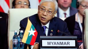 President van Myanmar zet verrassend stap opzij