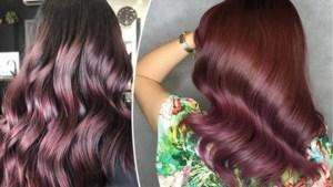 Een vleugje roze in het haar: het kan ook voor brunettes