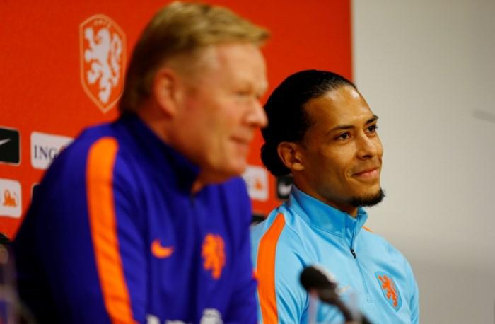 """Virgil van Dijk is de nieuwe aanvoerder van Oranje: """"Grote eer"""""""