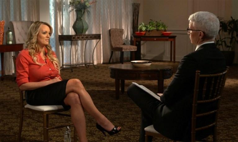 """Stormy Daniels: """"Ik werd na mijn affaire met Trump bedreigd"""""""