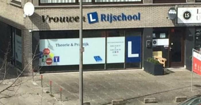 """Weyts furieus over rijschool voor vrouwen in Merksem: """"Dit moet late aprilgrap zijn"""""""