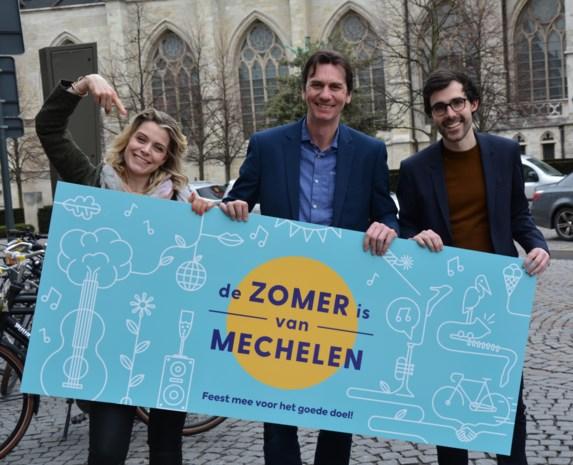 De Zomer is van Mechelen  zoekt vijf goede doelen