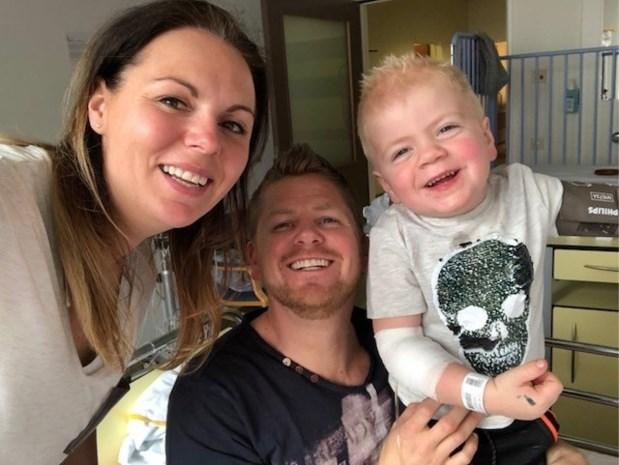 Eindelijk behandeling voor ziekte van 3-jarige Finn