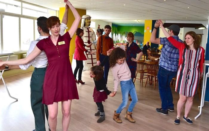 Slotfeest in Speelgoedmuseum in heuse fiftiesstijl