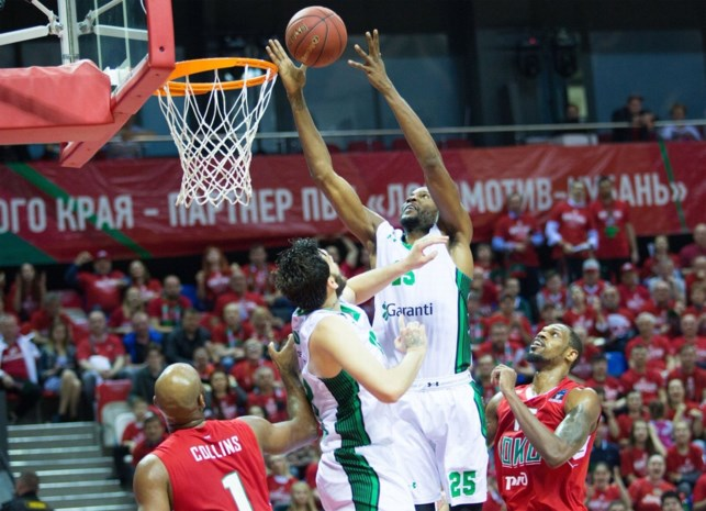 Turkse Darussafaka Istanboel wint finale van EuroCup basketbal