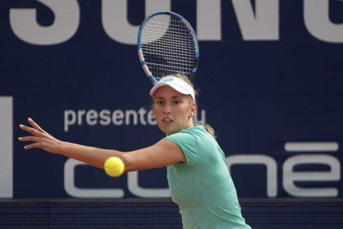 Elise Mertens stoot ondanks bijzonder drukke dag door naar finale in Lugano