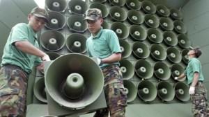 Zuid-Korea laat luidsprekers aan Noord-Koreaanse grens zwijgen in aanloop naar top