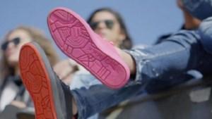 Deze sneakers worden gemaakt van... kauwgom