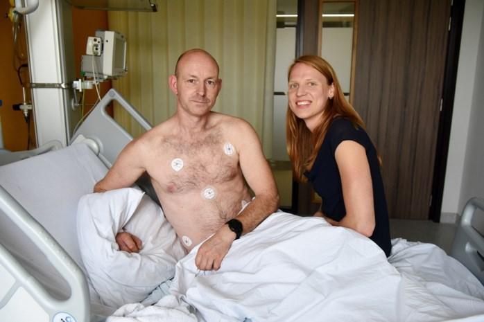 """Ultraloper Yves belandde in ziekenhuis tijdens Antwerp Marathon: """"Dat ik gevallen ben, heb ik zelfs niet beseft"""""""