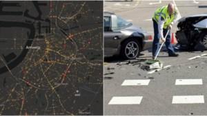 KAART. Op deze plekken in uw gemeente gebeurden zware ongevallen