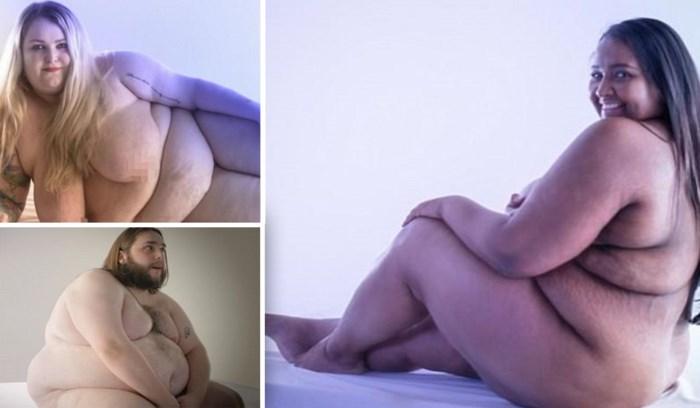 """Mensen met obesitas gaan naakt voor de camera: """"Ik ben zwaar, maar daarom niet lui"""""""