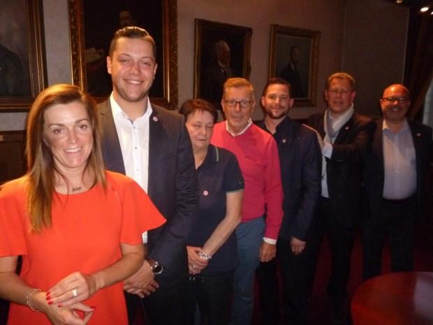 Voormalig burgemeester Marc De Laet duwt de lijst, Griet Reyntiens op de eerste plaats