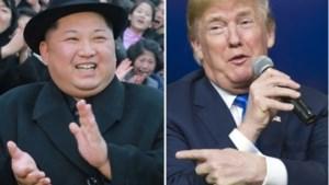 """Donald Trump: """"Onze maximale druk heeft geholpen bij toenadering tussen beide Korea's"""""""