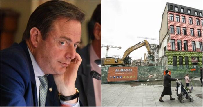 """De Wever verdedigt komst mediabedrijf op nieuw Mediaplein: """"Moet ik mij excuseren dat ik werkgelegenheid naar de stad haal?"""""""