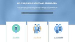 Nieuwe website voor ouders van kinderen die denken aan zelfdoding