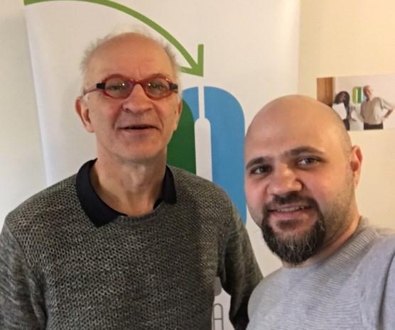 Senioren helpen 29 werkloze jongeren aan een job: Syrische vluchteling vond werk bij Katoen Natie