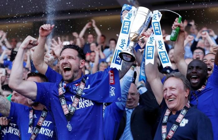 Cardiff keert na vier jaar terug naar Premier League