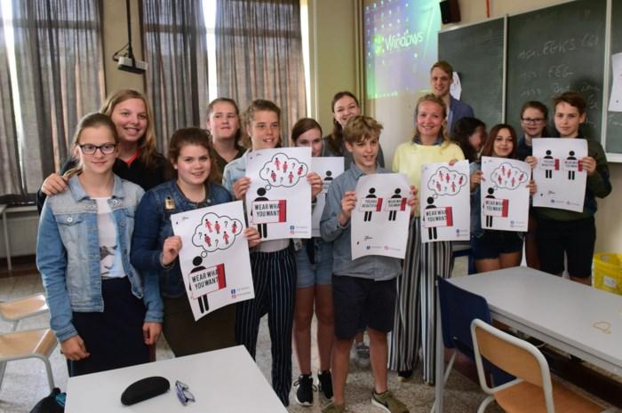 """Studenten lanceren campagne tegen online pesten: """"Wat mensen online schrijven, is abnormaal"""""""