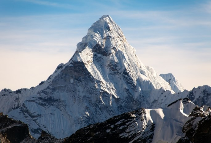 Hoog in de wolken: er komt een pop-uprestaurant op de Mount Everest
